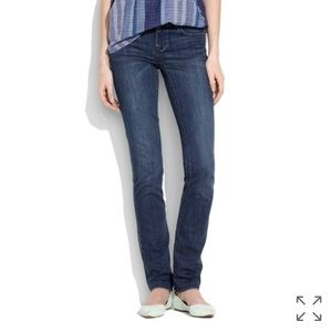 • Madewell • Rail Straight Jeans 27 Blue